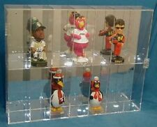 Acrylic Bobblehead Display Case Holds 14 New in Box Made in the USA