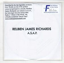 (HC624) Reuben James Richards, A.S.A.P. - DJ CD