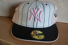 NEW ERA NY YANKEES LADIES  BASEBALL HAT SIZE 7.1/4  BRAND NEW SHOP SOILED