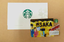 *Starbucks* NEW 2016 OSAKA Card *Collect Now* Japan Gift Card FREE SHIPPING