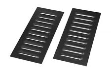 OBP Mild Steel Cooling Louvers 10 Fin (PAIR) OBPLOS1