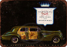1939 Cadillac classic car reproduction metal tin sign 8 x 12