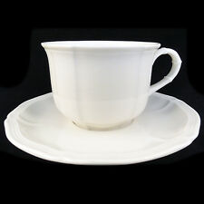 MANOIR Villeroy & Boch BREAKFAST CUP & SAUCER NEW NEVER USED made in Luxembourg