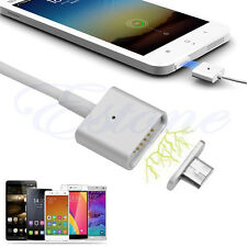 2.4A Micro USB Charging Cable Magnetic Adapter Charger for Android Samsung / LG