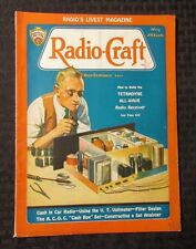 1932 RADIO-CRAFT Magazine v.3 #11 VG+ How-To Tetradyne All-Wave