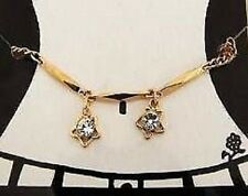 GOLD COLOUR CHARM BELLY CHAIN ADJUSTABLE 33 INCHES