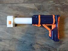 NERF official extendable Gun Stock Upgrade Mod Attachment blue
