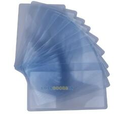10Pcs Credit Card 3X Magnifier Wallet Pocket Plastic Magnifying Fresnel LEN Read