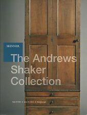 SKINNER SHAKER FURNITURE BOXES AMERICANA ANDREWS COLLECTION Auction Catalog 2014