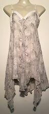 ❤️ Womens Flowing Silk Blend Evening WISH Dress Size Medium