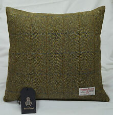 Authentic Harris Tweed Fabric Cushion Cover 18in. x 18in 100% wool ref. cc242/18