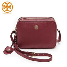 [TORY BURCH]ROBINSON PEBBLED DOUBLE ZIP CROSS BODY 32149961_#Red