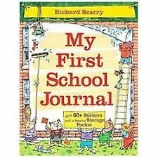NEW - Richard Scarry's My First School Journal by Scarry, Richard