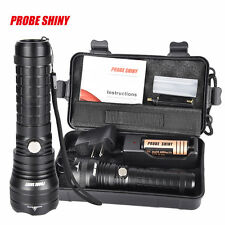 X800 5000LM Flashlight CREE XM-L T6 LED ZOOMABLE Torch Lamp+18650+Charger LOT