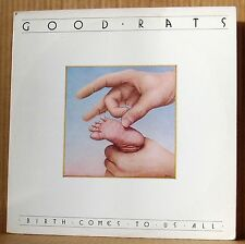 LP Good Rats  Birth comes to us all  ois Passport 1978