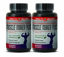 Tongkat Ali - MUSCLE MAKER PLUS - Sexual Health - Lean Muslce - 2Bot 120Ct