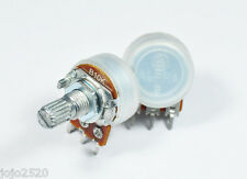 5 pcs Alpha 10KB / B10K Linear Pot Potentiometer 15mm Shaft 1/4W Volume Control