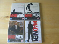 DVD - MAD MEN - SERIES 1 , 2 , 3 & 4 - Seasons One , Two , Three  & Four