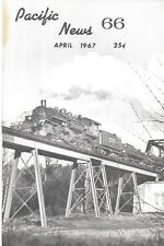 Pacific News 66 April 1967 Raynor In Steam 2-6-6-2 McCloud River Railroad