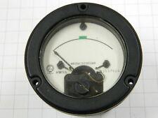 Amperometro 100uA fondo scala stagno foro mm. 55 antivibrazione, norme MIL