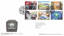 15 SETTEMBRE 2005 Classic ITV ROYAL MAIL FIRST DAY COVER Bureau SHS