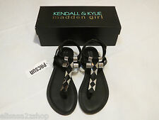 Kendall & Kylie Madden Girl Feliice Blk shoes Sandals 7 M NEW Womens juniors ^^
