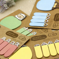 1 Sheet x Sticky Note Portable Cute Animal Stickers Office Supplies Sticky Note@
