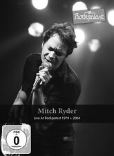 Mitch Ryder-Live at rock Palazzo 1979 + 2004 2 DVD NUOVO