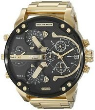 Diesel Men's Mr.Daddy 2.0 Gold Chronograph  Stainless Steel Analog Watch DZ7333