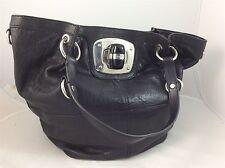 BNWT Karen Millen Ladies Black Leather Handbag RRP £165