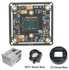 """Sunvision 650TVL 1/3"""" Sony CCTV Board Camera + CS & M12 Base Mounts (BS-65A3)"""