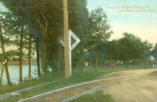 """Mechanicville, NY """"Many auto accident happen at this crossing"""" Hudson Valley RR"""