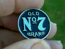 UK ~ OLD No 7 - VEST LAPEL PIN MOTORCYCLE BADGE fits Harley Davidson *NEW!* B