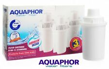 3 AQUAPHOR Water Filter Jug Pitcher Replacement Cartridges Classic Size Set of 3