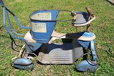 Vintage Stroller & Walker w/ Rare Fenders & Brake ! Taylor Tot Metal Baby Buggy