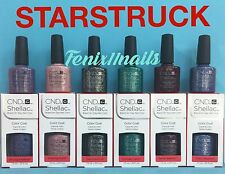 CND Shellac STARSTRUCK 6pc Set ~ Amethyst Diamonds Emerald Garnet Sapphire Topaz