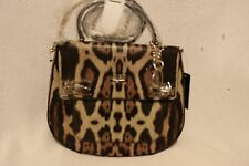 GUESS Milo Leopard-Print Top Handle Bag - Black Multi - LG456518