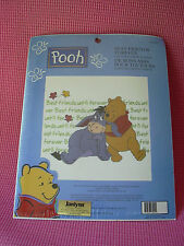 Pooh Best Friends Forever Cross Stitch Kit Eeyore #113242 JanLynn SEALED