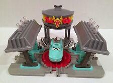 Disney Pixar Cars GeoTrax Transportation System Flo's V-8 Café Sounds!