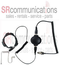 Headset Tactical Throat Mic Kenwood NX200 NX300 TK2140 TK3140 TK2180 TK3180