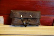 Authentic Soviet army, SKS brown artificial leather (Kirsei) ammo pouch
