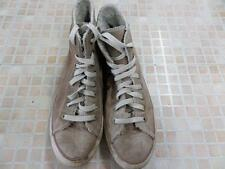 Converse All Star High Top Trainers Mens EU 39.5 UK 6.5 Beige Grade C AB897