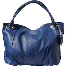Shoulder Bag Italian Genuine Leather Hand made in Italy Florence 3005 db