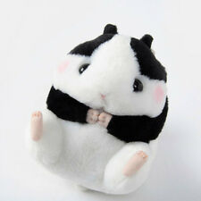 Korohamu Koron 6'' Black and White Hamster Amuse Prize Plush