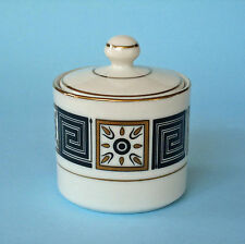 CONDIMENT JAR RETRO 60s JAPAN Wasabi Mustard Pot lidded ceramic