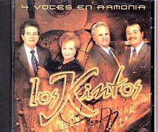 """TRIO LOS KINTOS - """"4  VOCES EN ARMONIA""""- CD"""
