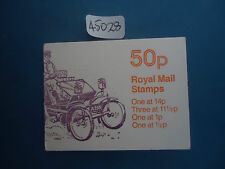 great britain 50p booklet 1981 lanchester FB14b (11 1/2 LB) MNH
