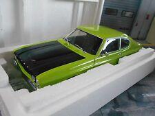 FORD Capri Coupe MKI RS2600 RS 2600 1970 grün schwarz green Minichamps 1:18