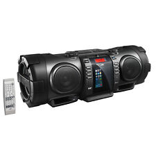 JVC RV-NB100 Bluetooth Portable CD Boomblaster with Lightning Dock and DAB