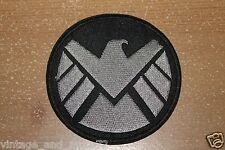 AVENGERS AGENTS OF SHIELD T.V. **SUBDUED** LOGO embroidered Iron on Patch MARVEL